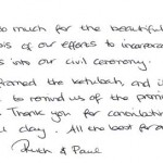 Our ketubah: a reminder of the promises we made