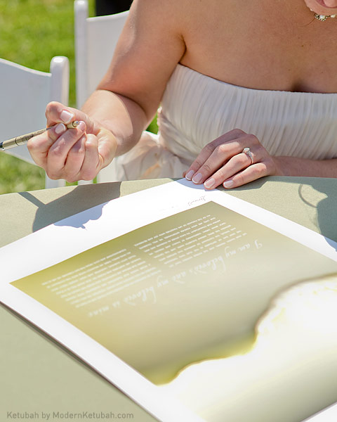The Resonance Ketubah by ModernKetubah.com