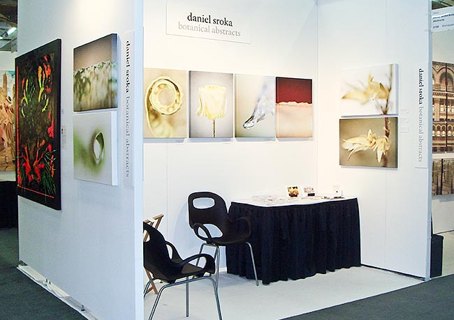 Daniel Sroka's booth at the prestigious Artexpo Show in New York, March 2011.