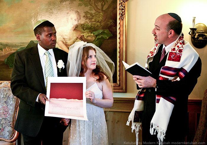 Jewish Wedding Ketubah Modern Ketubah: the In...